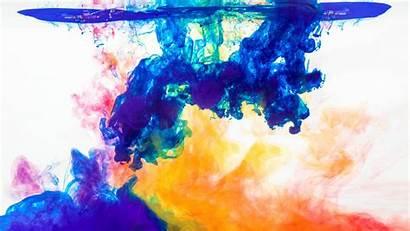 4k Water Wallpapers Desktop Chromebook Colorful Paint