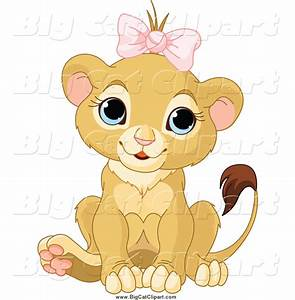 Royalty Free Cute Lion Stock Big Cat Designs