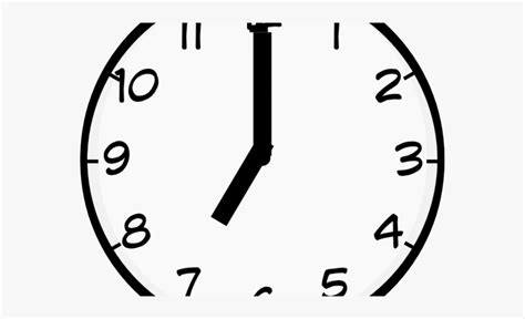 Great selection of clock clipart images. Clock Clipart 7 Am - Wall Clock , Transparent Cartoon ...