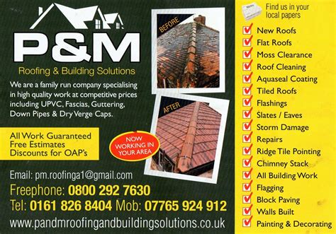 details  pm roofing building solutions