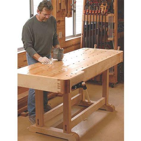 fine woodworking essential workbench plan woodworking