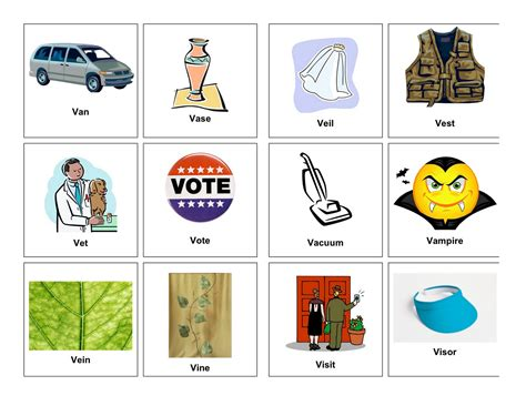 three letter words with v clear speech therapy v words 25283 | initial%2Bv.1pdf