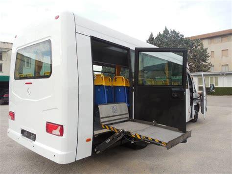 pedana disabili allestimenti speciali autobus per disabili