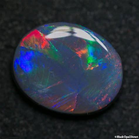 2 59 ct black opal gem 11 5x9x3mm black opal direct