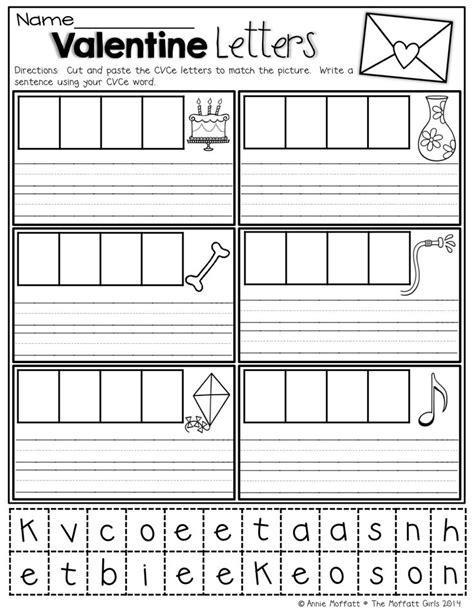 Cvce Worksheets Kindergarten Cvce Best Free Printable Worksheets