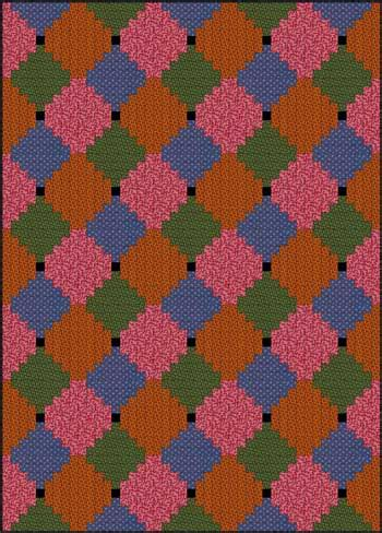 courthouse steps quilt pattern fast  fun beginner quilt
