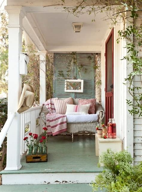 Rustic front porch decorating ideas porch shabby chic
