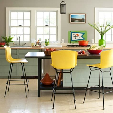 colored kitchen chairs color spotlight bhg centsational style 2327