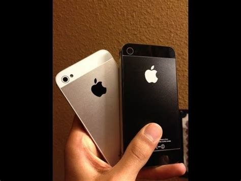 what does an iphone 4 look like how to convert iphone 4 4s into iphone 5