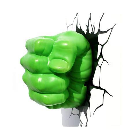 hulk fist 3d deco light energy efficient wall mounted
