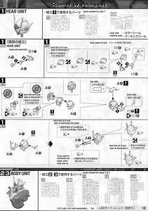 Mg 00 Gundam Seven Sword   G English Manual  U0026 Color Guide