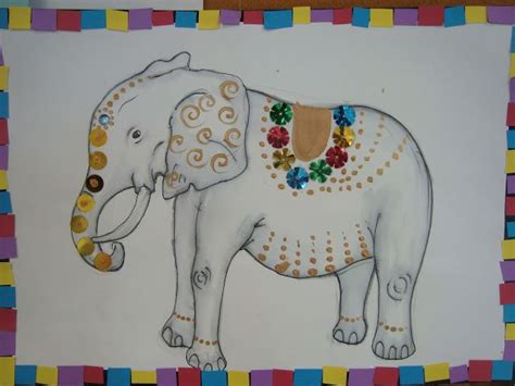 day  dasara elephant crafts crafts activities