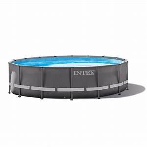 Piscine Tubulaire Intex : piscine intex ultra frame x m ref 28324 raviday ~ Nature-et-papiers.com Idées de Décoration