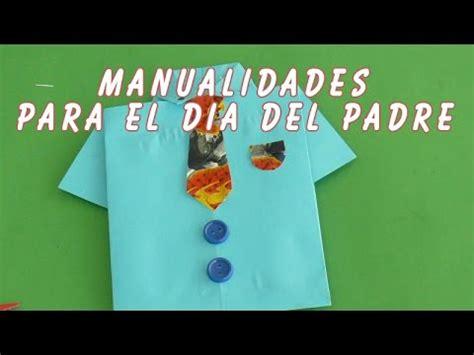 como hacer manualidades para el dia padre una original camisa en origami