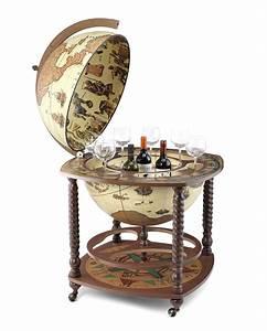 Globus Als Bar : gro er bar globus mit spiralf rmig gewundenen beinen caronte zoffoli store ~ Sanjose-hotels-ca.com Haus und Dekorationen