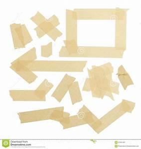Masking Tape Pieces stock image. Image of background ...