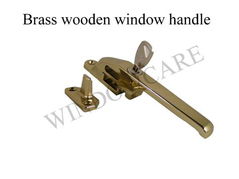 basta shaw wood timber window handle locking casement fastener ebay