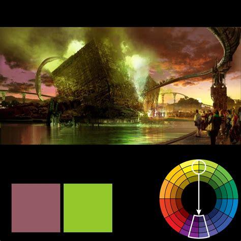 Color Harmony  Hulk Wears Purple Pants Zevendesign