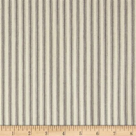 44 quot ticking stripe grey valance curtains duvet covers