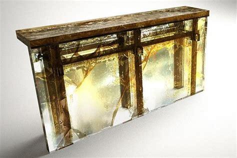 encased in epoxy resin wood furniture collection unique furniture design idea