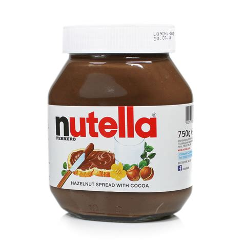 750g cuisine nutella hazelnut chocolate spread 750g ebay