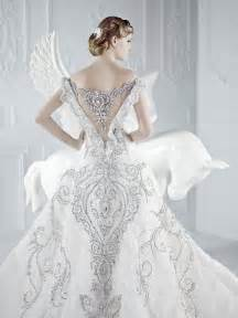 beautiful wedding gowns exposing beautiful back wedding dresses gown