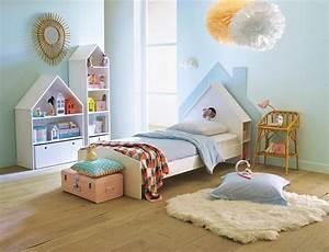 Lit Maison Enfant : t te de lit enfant top 10 des plus originales pour 2018 ~ Farleysfitness.com Idées de Décoration