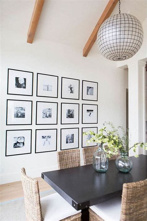 But figuring out how to frame oversize finds so they're worthy of a whole wall in your home seems this works best in a room that gets a lot of natural light. How To Fill That Big Empty Wall (6 Ideas For Your Blank Wall) (With images)   Minimalist dining ...