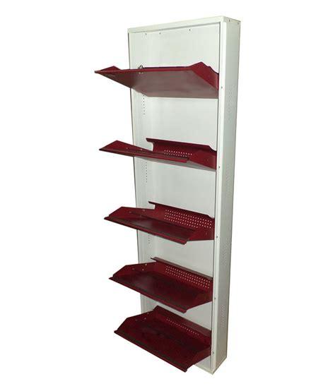 wall shoe rack aditi wall mounted metal shoe rack buy aditi wall