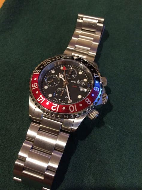fs revue thommen gmt chronograph diver valjoux