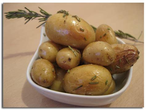 pommes de terre nouvelles au romarin cuisson au four