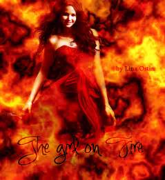 Katniss Girl On Fire