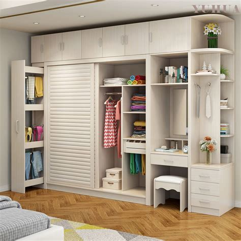china modern furniture sliding wardrobe solid woodplywood