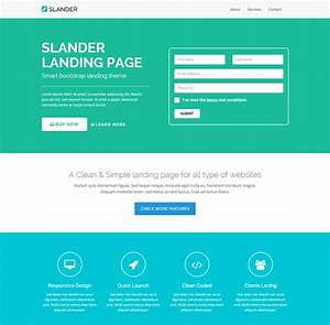 15 best start up landing pages to download free With free landing page templates for wordpress