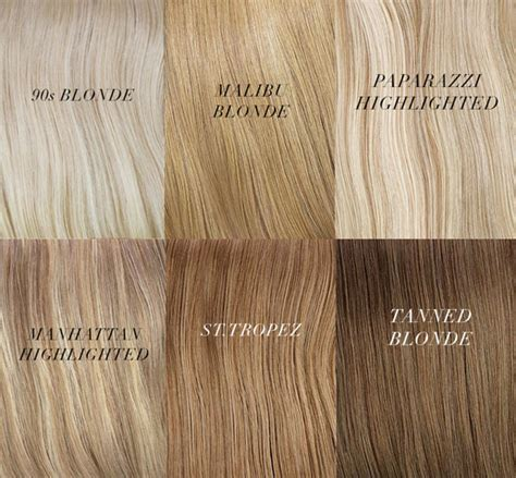 Shades of Blonde Hair Color Names » dFemale   Beauty Tips