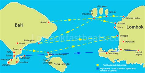 Fast Boats Bali To Lombok by Bali To Lombok Fast Boat From Bali To Lombok Bali To