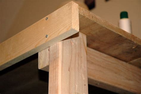 how to make a work table wooden work table do it yourself project
