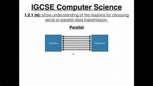 Igcse Computer Science Tutorial  1 2 1  E   U2013 Serial Vs