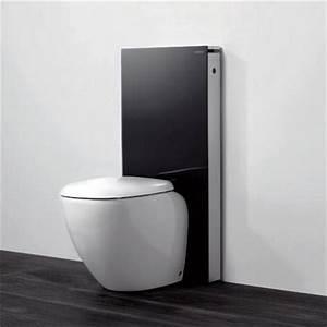 Geberit Monolith Wc : geberit monolith wc unit cistern for floorstanding wc 39 s black aluminium at victorian ~ Frokenaadalensverden.com Haus und Dekorationen