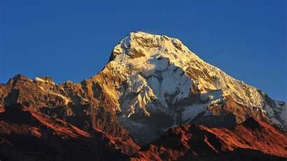 4k Mountain Nepal Wallpapers Mountains Annapurna Nature