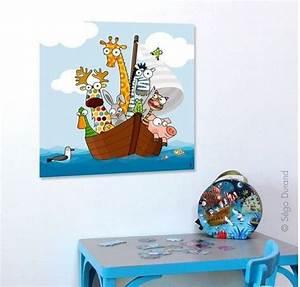 Tableau Chambre Enfant : tableau animaux rigolos pour chambre b b et enfant paints pinterest animaux ~ Teatrodelosmanantiales.com Idées de Décoration