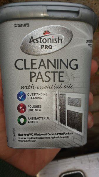 astonish pro cleaning paste       upvc