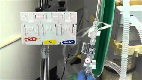 How to Setup an Arterial Line Transducer - YouTube