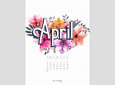APRIL 2017 CALENDAR + TECH PRETTIES Dawn Nicole Designs®