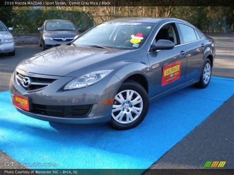 2010 Mazda Mazda6 I Sport Sedan In Comet Gray Mica Photo
