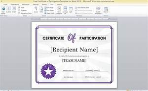 Participation award certificate templates memes for Free participation certificate templates for word