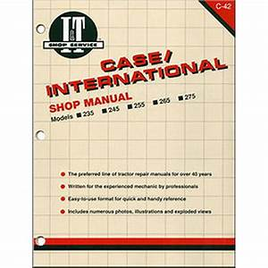 International Harvester Service Manual 136 Pages  Includes