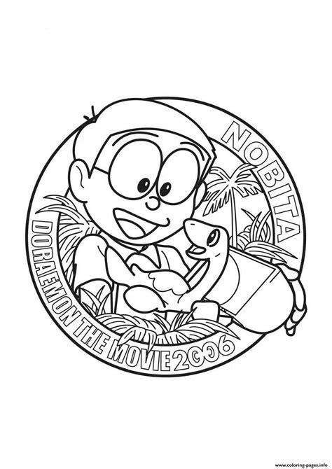 nobita  doraemon    coloring pages printable