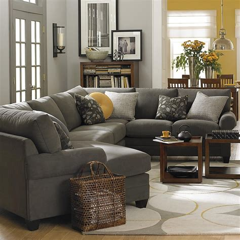 Gray Sectional Living Room Ideas by Best 25 Gray Living Rooms Ideas On Gray