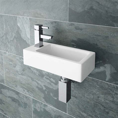 Toilets And Basins For Small Bathrooms by Rondo Wall Hung Small Cloakroom Basin Now At